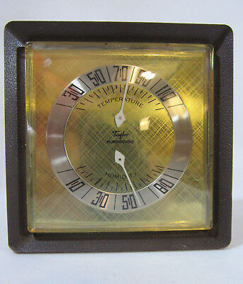 Vintage TAYLOR HUMIDIGUIDE Temperature & Humidity Gauge Weather Station