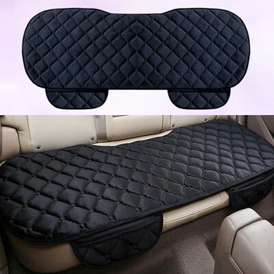 Universal Car Auto Black Rear Back Seat Cover Protective Mat Chair Cushion Pads