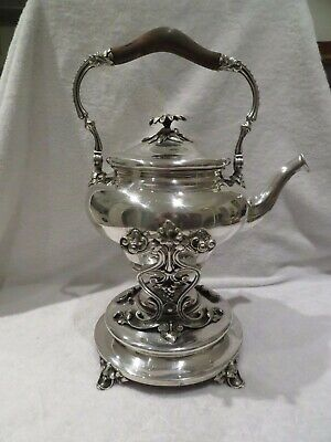 magnificent 1900 silver-plated samovar hot water fountain Christofle art nouveau