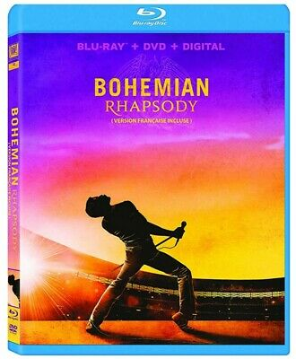 Bohemian Rhapsody (Bilingual) [Blu-ray + DVD + Digital Copy] *NEW**