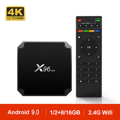 TV BOX Original X96mini Smart Android 9.0 Cuatro núcleos 2GB+16GB TV CAJA WiFi