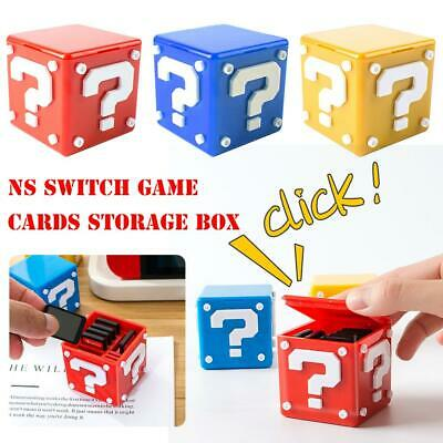 12 in 1 Game Card Storage Case Holder Cartridge Box for Nintendo  Video Games