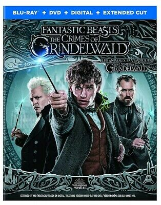 Fantastic Beasts: The Crimes of Grindelwald (Bilingual)[Blu-Ray+DVD+Digital]*NEW