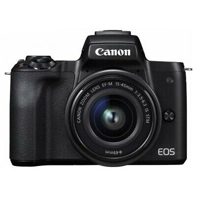Canon EOS M50 (15-45mm) Mirrorless Camera with GEN CANON WARR