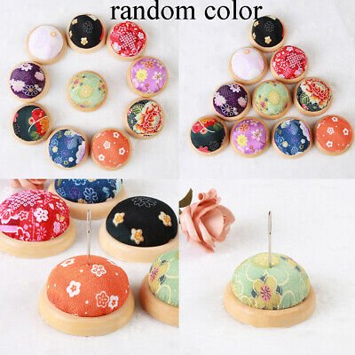 Cute Floral Wrist Pin Cushion  Sewing Tool Needle Pins Holder HOT