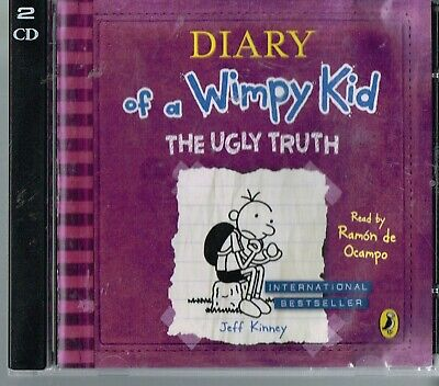Diary of a Wimpy Kid The Ugly Truth 2CD Jeff Kinney Read by Ramon de Ocampo