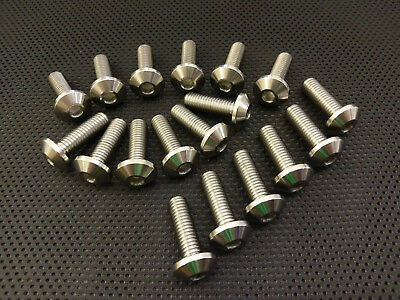 FZ750 Titanium Disc Bolts 85-91 Ti Rotor Bolts FZ 750 750R Full Set