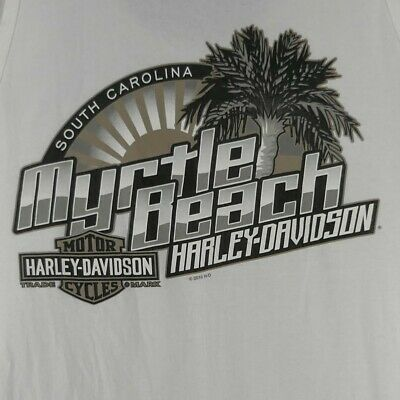 Harley-Davidson Motorcycles South Carolina Myrtle Beach Sleeveless T-Shirt XL