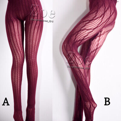 [NO STAIN]1/6 TBleague phicen red wine pantyhose for JIAOU DOLL