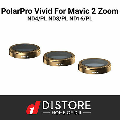 OFFICIAL Polar Pro Filters for DJI Mavic 2 ZOOM VIVID Collection