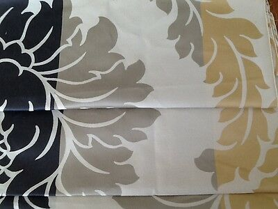 Laura Ashley Vittorio Gold fabric Table Runner  Fully Lined. New!