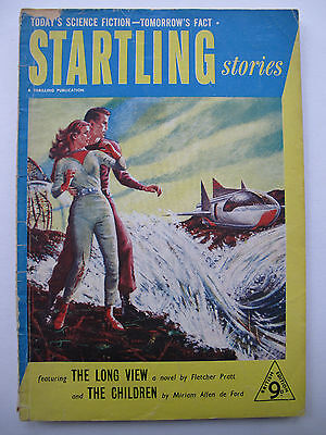 UK Pulp Magazine - STARTLING STORIES (UK) No. 12 (1953) - Fletcher Pratt
