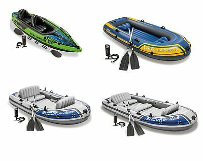 Intex Schlauchboot Excursion 4 / 5 Challenger K2 / 3 Ruderboot Motorboot