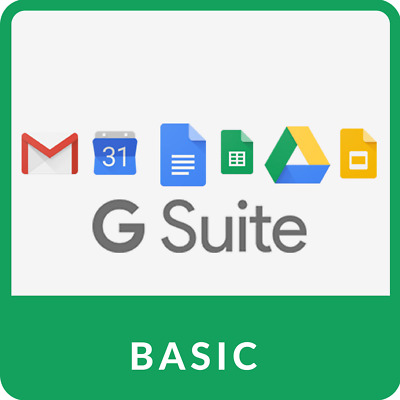 Domain name with 2000 users G Suite (30GB storage per user) Limited Quantity!!