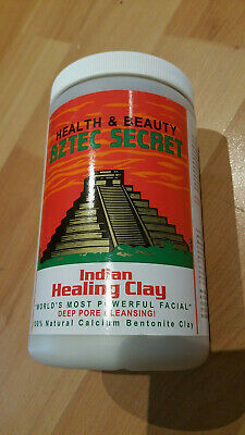 Aztec Healing Clay Facial Deep Pore Cleansing Mask Skin BENTONITE 908 Grams 2Lbs