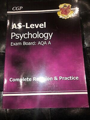 AS-Level Psychology AQA a Complete Revision & Practice by CGP Books (Paperback,