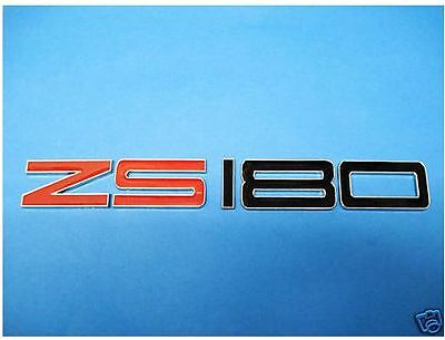 NEW Enamel ZS180 Chrome Letters Car Badge MG ZS 180 BHP