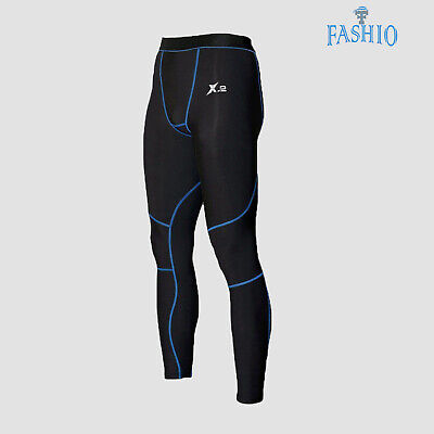 Men's Compression Running Pants Skin Tights Base Layer Gym Sports Trouser