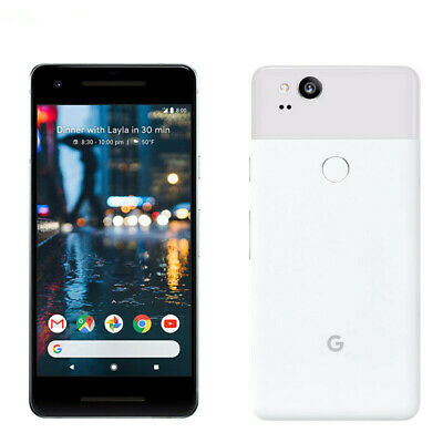 Google Pixel 2 64GB Unlocked Android 4G LTE 5.0in Smartphone Just Black, White