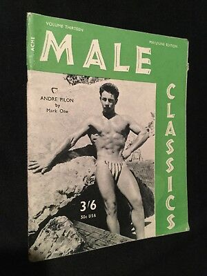 Rare Male Classics Vol 13 May Acme Magazine Male Gay Interest Vintage Booklet