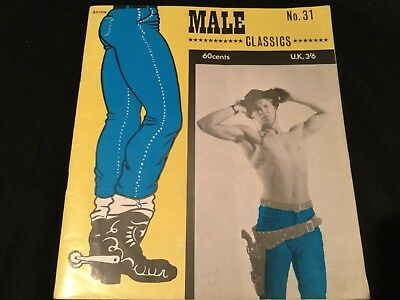 Rare Male Classics No 31 Acme Magazine Male Gay Interest Vintage Booklet