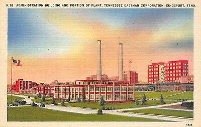 KINGSPORT TN TENNESSEE, Plant of Tennessee Eastman Company