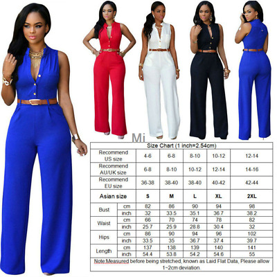 New Women Clubwear Summer Playsuit Bodycon Party Jumpsuit Romper Trousers long