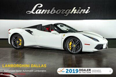 "2018 Ferrari 458 Italia Spider  404K MSRP!+SHIELDS+SSC+20"" FORGED+REAR PARKING SENSORS+MAGNETIC SUSPENSION+LIFT"