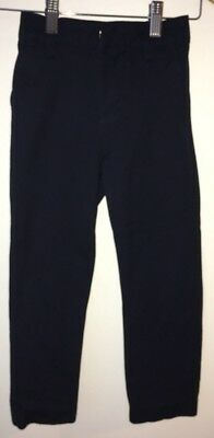 Boys Navy School Trousers Age 6 Slim Next<NH9148