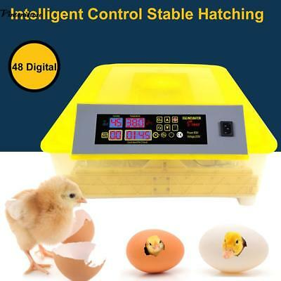 D16 9 Egg Incubator Fully Automatic Turning Poultry Chicken Quail Duck Goose O Latest Technology Bird Supplies