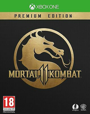 Mortal Kombat 11 Premium Gold Edition (Xbox One) Fast Free UK P&P New & Sealed