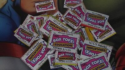 100 BOX TOPS FOR EDUCATION - BTFE - NONE EXPIRED all 2021 dates💞