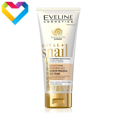 Eveline Cosmetics Royal Snail Intensively Regenerating Hand Cream Mask 100ml