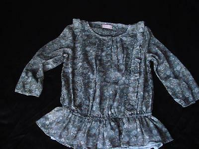 Girls Bnwt Next Floral Blouse Age 10 Years