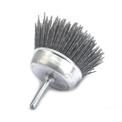 3 Inch Polishing Grinding Abrasive Wire Wheel Cup Nylon Brush 120 Grit For Metal