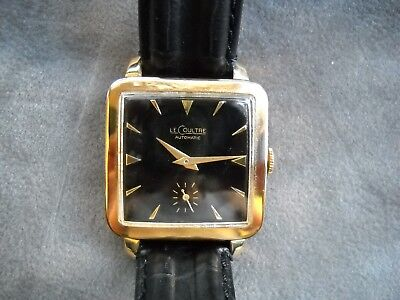 LE COULTRE HAMMER AUTOMATIC 1956,10k Gold filled, Cal.LC812, extremely rare TOP!
