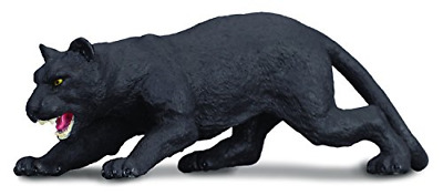 CollectA Wildlife Black Panther Toy Figure - Authentic Hand Painted Model