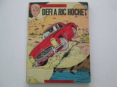 Ric Hochet Defi A Ric Hochet Eo1965 Be/Tbe Edition Originale