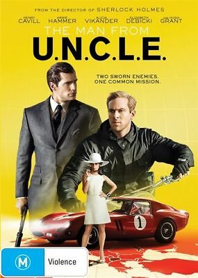 The Man From Uncle Dvd, New & Sealed, Region 4, Free Post.