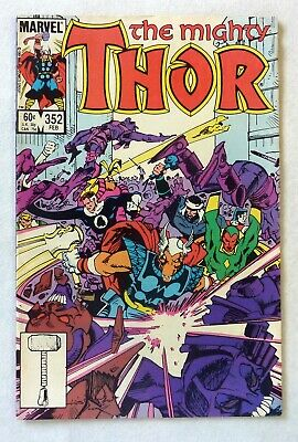 The Mighty Thor 352 Marvel Comics VFN Condition Bronze Age 1984