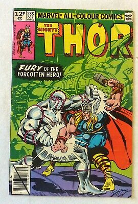 The Mighty Thor 288 Marvel Comics VFN Condition Bronze Age 1979