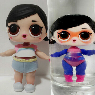 lol surprise doll Big Sister Series 2-022 Black Hair DIY Dress Girls Gift