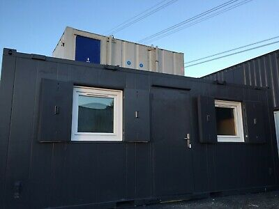 20x8ft Anti Vandal Site Office / Canteen / Portable Building / Site Cabin