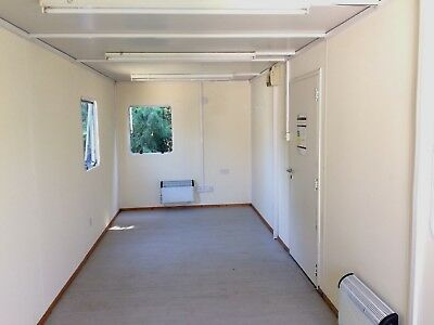 24x8ft Site Office / Portable Building /Jack leg / Site Cabin / Canteen 3400+VAT