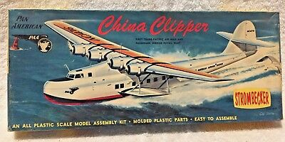 Strombecker Pan Am China Clipper - D31-89 Early 1950's Kit!
