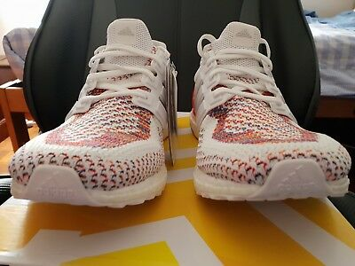 new styles 58161 89c4f adidas Ultra Boost 2.0 MultiColor Red White Multi 11.5UK 12US BB3911