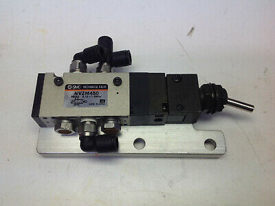 SMC NVZM450 Mechanical Toggle Valve (#866-37)