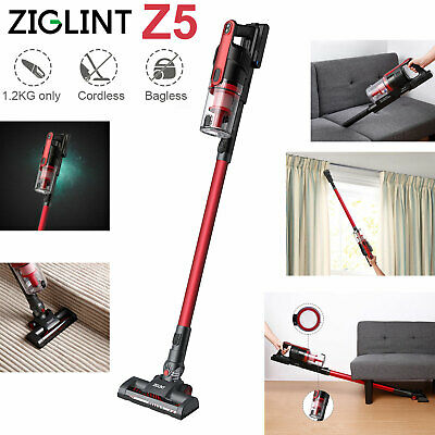 ZIGLINT Z5 Upright Stick Cordless Handheld 2 in 1 Vacuum Cleaner 22.2 V 8000Pa