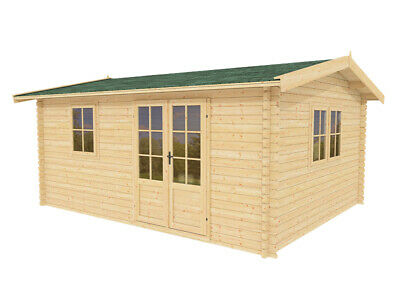 12x10 Storage Shed Garden Modern Shed Pool House 100 Natural Wood Aspen