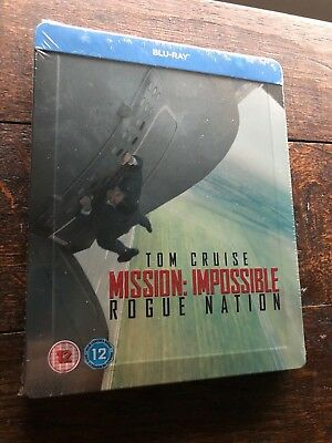 [Blu Ray Steelbook] Mission Impossible : Rogue Nation.. Neuf